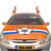 Oranje motorkap hoes Holland