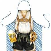 Keukenschort Oktoberfest Mann
