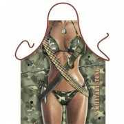 Keukenschort Military Zone Vrouw