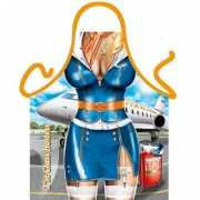 Keukenschort Stewardess