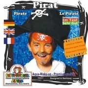 Schminkset piraat voor kinderen