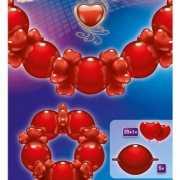 Vrolijke ballonnen slinger Liefde