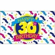 Happy Birthday vlag 30 jaar