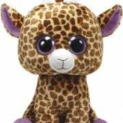 Pluche Beanie knuffel giraffe 42 cm