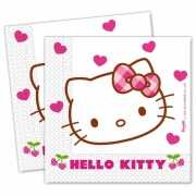 TV personage Hello Kitty servetten 20 stuks