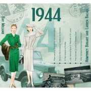 Verjaardag CD kaart met jaartal 1944