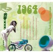 Verjaardag CD kaart met jaartal 1964