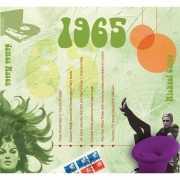 Verjaardag CD kaart met jaartal 1965