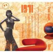 Verjaardag CD kaart met jaartal 1971