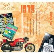 Verjaardag CD kaart met jaartal 1975