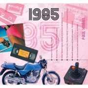 Verjaardag CD kaart met jaartal 1985