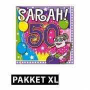 Sarah feestartikelen pakket XL