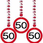 50e verjaardag versiering