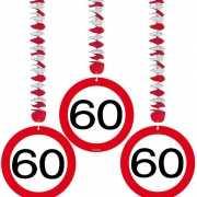 60e verjaardag versiering