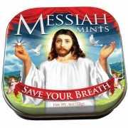 Blikje met pepermuntjes Messiah mints