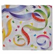 Gekleurde verjaardags servetten