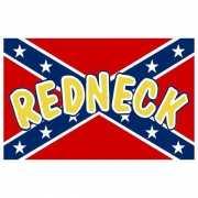 Rednecks vlag 90 x 150 cm