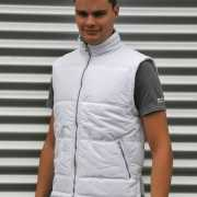 Heren bodywarmer Spring wit