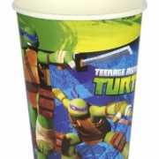 Ninja Turtles papieren bekers 8 stuks