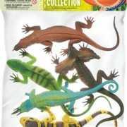 Plastic reptielen set 5 stuks