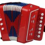 Rode accordeon