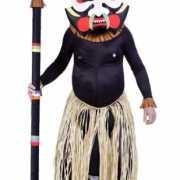 Medicijn man kostuum met masker