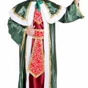 De Drie Wijzen groen kostuum voor volwassenen