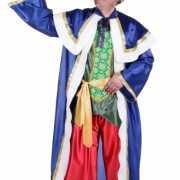 De Drie Wijzen blauw kostuum voor volwassenen
