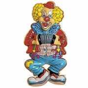 Clown versiering wanddecoratie 50 cm