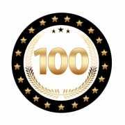 Luxe 100 jarige bierviltjes
