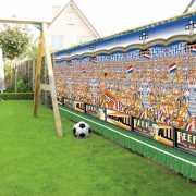 Scenesetter oranje voetbalstadion