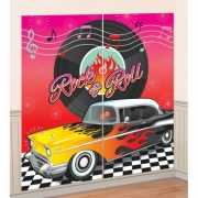 Jaren 50 Rock and Roll decoratie