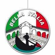 Ronde Italie hangdecoraties 28 cm