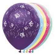 Helium leeftijd ballon 16 jaar