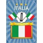 Deur poster thema Italia