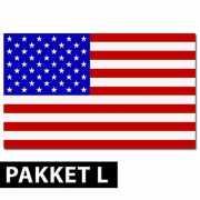 Amerika versiering pakket groot