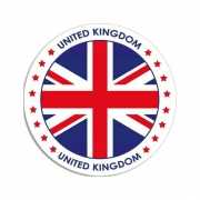 Ronde United Kingdom sticker