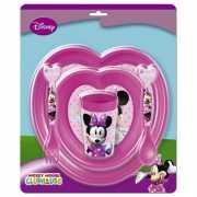 Minnie Mouse kado servies voor meisjes