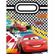 Cars thema feestzakken 6 stuks