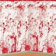 Halloween scenesetters bloederige muur