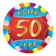 Bierviltjes 50 jaar feestartikelen
