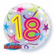 Helium ballon rond 18 jaar
