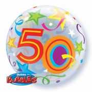Helium ballon rond 50 jaar