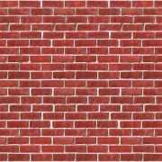 Bakstenen muurdecoratie 9 meter