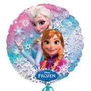 Frozen helium ballon
