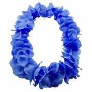 Kobalt blauwe hawaii krans