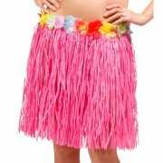 Roze Hawaii rokje 45 cm