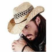 Papierstro hoed voor volwassenen