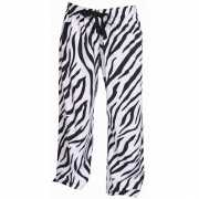 Zebra print loungebroek