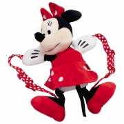 Pluche Minnie Mouse rugtassen